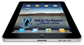 Qyst Walk for the Wounded IPAd