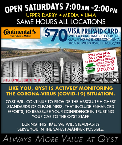 QYST and CONTINENTAL PROMO