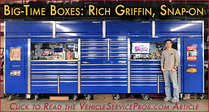 Qyst's ASE Certified Rich Griffin, Big-Time Boxes: Snap-on