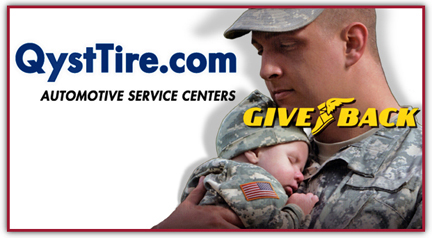 "QystTire and Goodyear® in Our ""Support Our Troops""® Event"